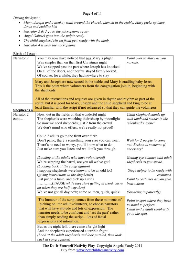 Christmas Play Scripts For Schools - Christmas Decor and Lights