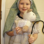 Shepherd With Cleverly Placed Script Prompts | Best Childrens Nativity