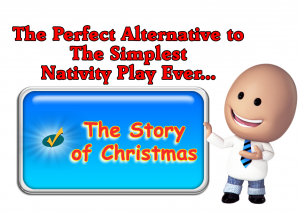 Alternative To Simplest Nativity Banner